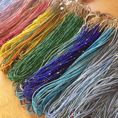 small African Trade Bead strands