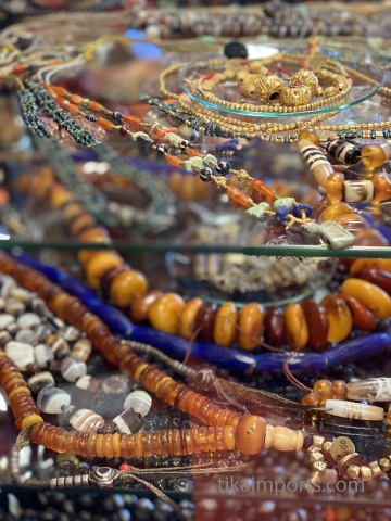 antiques beads and jewelry
