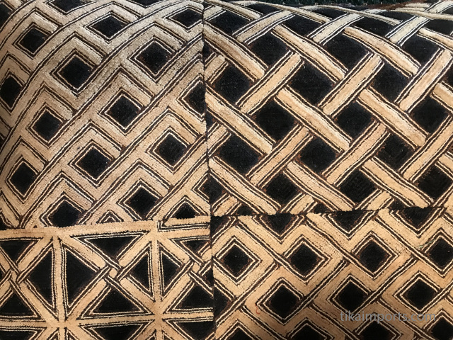Kuba cloth from the Kuba tribe of Zaire