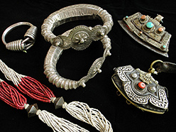 antique Tibetan, Indian and South Asian Jewelry