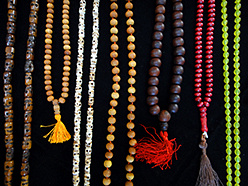 mala and tespeh prayer beads in assorted materials