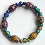 color changing mirage bead stretch bracelet