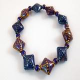 color changing mirage bead stretch bracelet
