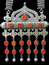 detail of Antique Turkoman Necklace