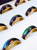 color changing mood rings!