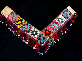 view of entire Traditional Saye Gosha textile