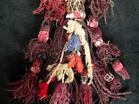 Vintage Wooly Tassel from Balochistan, Pakistan