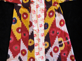 front view of Silk Robe