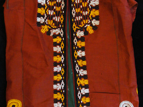 front view of Silk Chapan