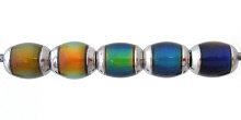 strand of our original color-changing Mirage beads with brass core