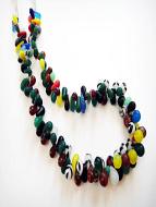 Mali Wedding Bead strand, antique African Trade Beads