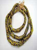 One of a kind strand of African Trade Beads- glass beads made in Venice, Italy and traded in to Africa and around the world in the 1900