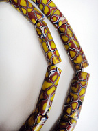 One of a kind strand of African Trade Beads- glass beads made in Venice, Italy then traded in to Africa and around the world during the 1900