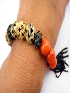 Fancy tassle bracelet in