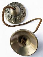 Brass Tincha Chimes depicting 8 Precious Symbols