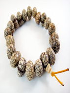 Lotus pebble bracelet