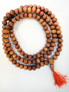 10mm sandalwood mala prayer beads
