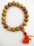 12mm sandalwood mala prayer bead bracelet
