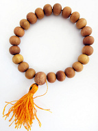 10mm sandalwood mala prayer bead bracelet