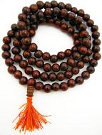 10mm sheesham mala beads coiled