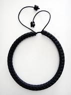 Adjustable Snake Vertebrae Chokers with Black stain