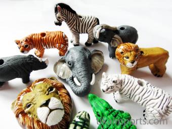 Critter Beads Safari Assortment