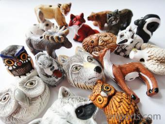 Critter Beads Woodland Assortment