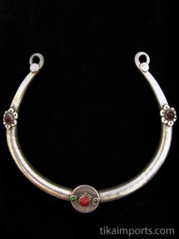 Silver Afghani Torque