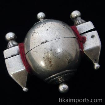 Antique Silver Shiva Lingham box