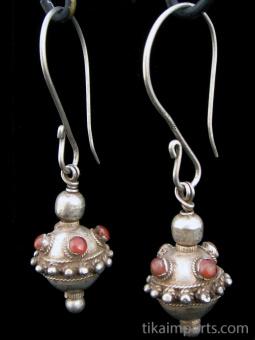 Antique Afghani Earrings