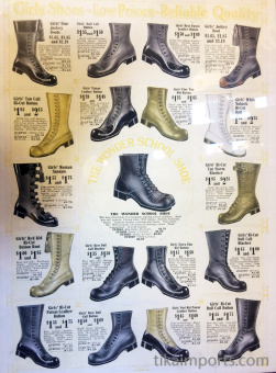 examples of Victorian boots