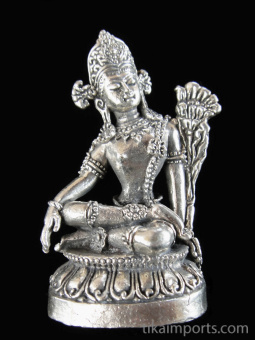 Indra brass deity statue ~ king of gods, king of the heavens