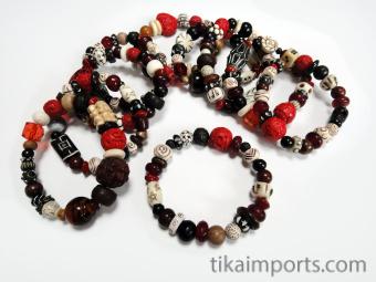 Assorted Treasure Chest stretch Bracelets