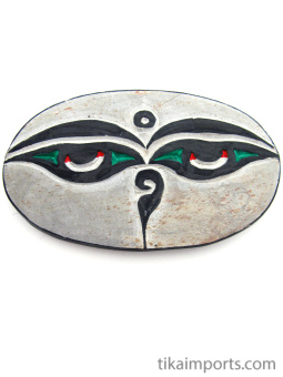 Hand-carved Mani Stone