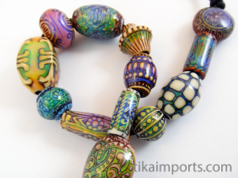 mirage bead sample strand changing color