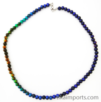 single strand of 6mm Round Micro Mirage necklace