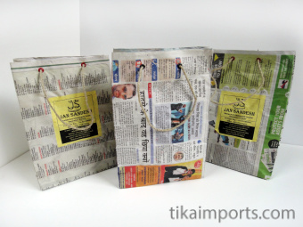Medium Jan Sandesh Newspaper Gift Bags
