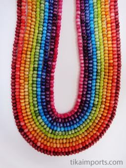 3mm Rainbow Bone Necklace selection