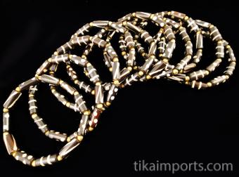 Batik Bone Bracelets
