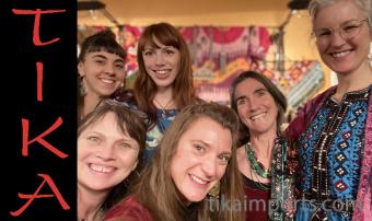 Tika Imports Tucson Gem Show ladies in 2020
