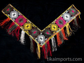 entire view of Traditional Saye Gosha textile