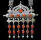 detail of Antique Turkoman Necklace