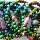 assorted color changing Micro Mirage bead stretch bracelets