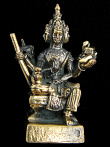 Brahma, the Hindu god of creation.