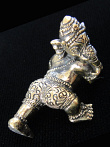Young Crawling Ganesh brass deity statue, the remover of obstacles