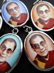 His Holiness, the Dalai Lama, exiled Spiritual leader of Tibet, and Nobel Peace Prize winner