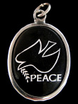 The symbol of the Dove of Peace