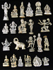 Small Brass Deity Statuette Best-Seller Assortment