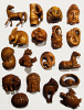 handcarved boxwood netsuke, best seller assortment