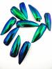 pack of 10 emerald beetle wings